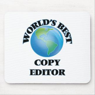 World's Best Copy Editor Mousepad