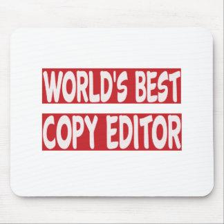 World's Best Copy Editor. Mousepads