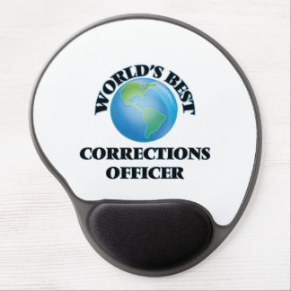 World's Best Corrections Officer Gel Mouse Pads