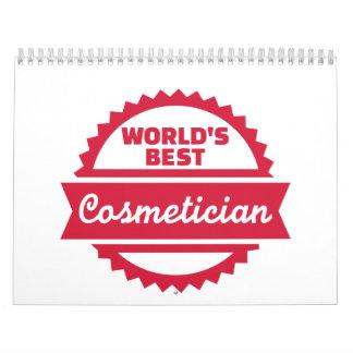 World's best cosmetician calendar