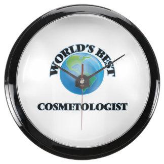 World's Best Cosmetologist Aquavista Clocks