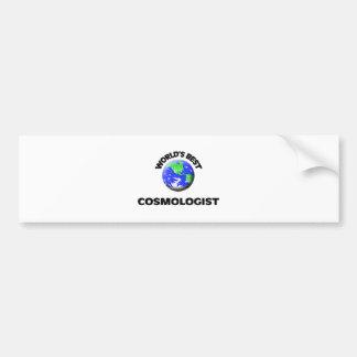 World's Best Cosmologist Bumper Sticker