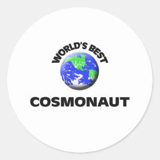 World's Best Cosmonaut Stickers