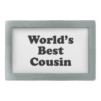 World's Best Cousin Belt Buckles
