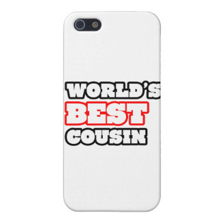 World's Best Cousin Cover For iPhone SE/5/5s