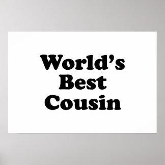 World's Best Cousin Poster