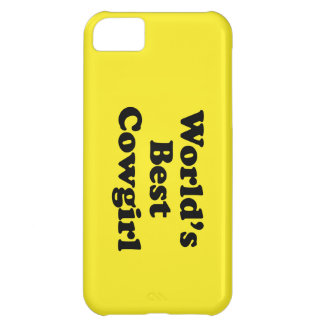 World's Best Cowgirl iPhone 5C Cover