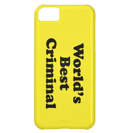 World's Best Criminal iPhone 5C Covers