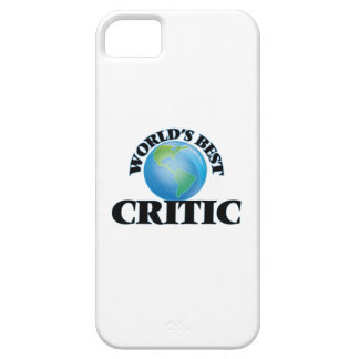 World's Best Critic iPhone 5/5S Cases