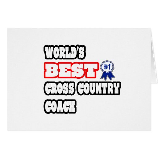 World's Best Cross Country Coach Cards