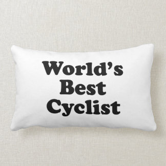 World's Best Cyclist Lumbar Pillow