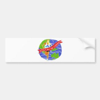 World's Best Dad # 1 Bumper Sticker