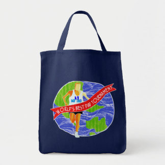 World's Best Dad # 1 Tote Bag