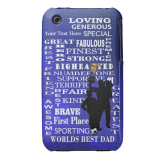 Worlds Best Dad 3G/3GS Barely There Case iPhone 3 Case