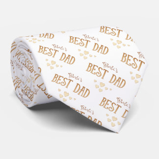 World's Best Dad | Adorable Gifts Neck Tie