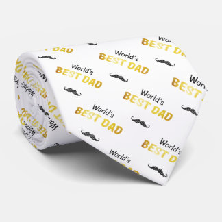 World's Best Dad | Adorable Gifts Tie