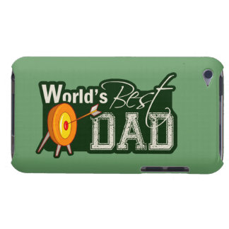 World's Best Dad; Archery iPod Case-Mate Cases