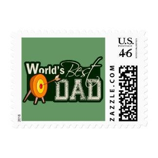 World's Best Dad; Archery Postage