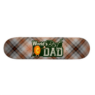 World's Best Dad; Archery Skateboard