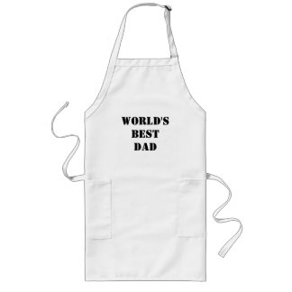 World's Best Dad Arpon Long Apron