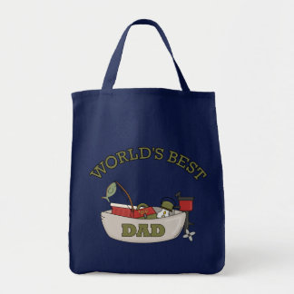 World's Best Dad Canvas Bags