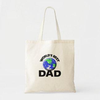 World's Best Dad Canvas Bag