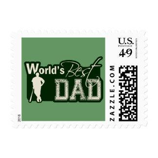 World's Best Dad; Baseball Postage