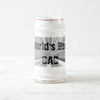 Worlds Best Dad Beer Stein