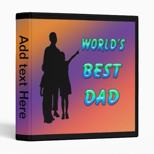 World's Best Dad Binder