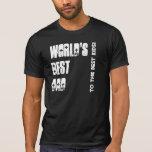 World's Best Dad Black and White W1541 Tee Shirt