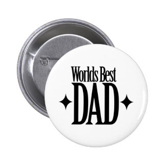 Worlds Best Dad Button