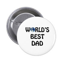 world's best Dad Button