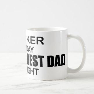 World's Best Dad by Night - Banker Coffee Mug