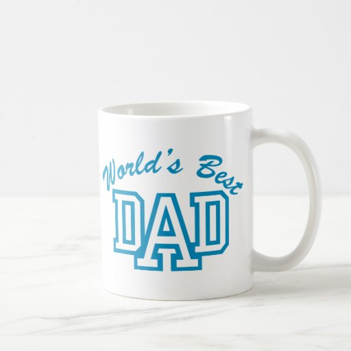 World's Best Dad Classic White Coffee Mug
