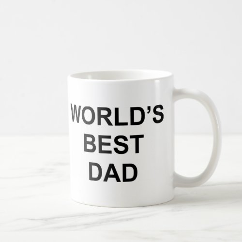 Worlds Best Dad Coffee Mug