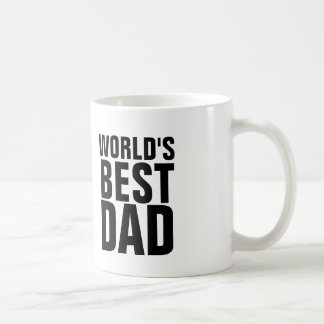 WORLD'S BEST DAD coffee mugs