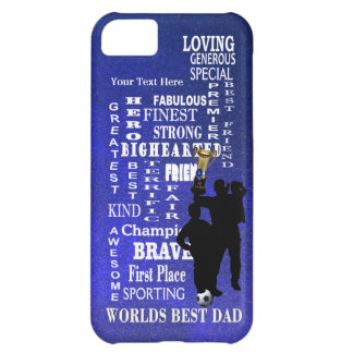 Worlds Best Dad Collage Barely There Cover For iPhone 5C
