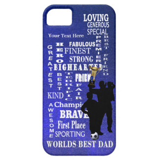 Worlds Best Dad Collage Barely There iPhone 5 Case