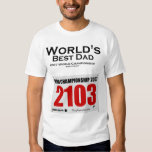 World's Best Dad Competition Participant Tshirts