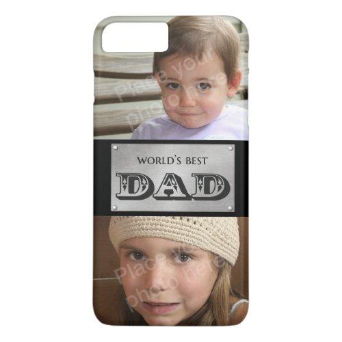 World's Best Dad - Custom 2 photos Phone Case