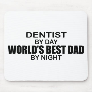 World's Best Dad - Dentist Mouse Pad