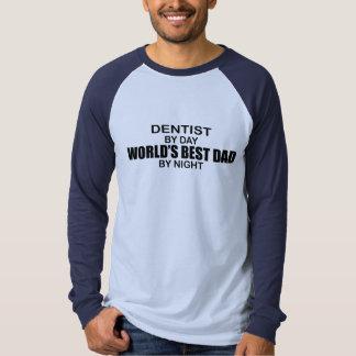 World's Best Dad - Dentist Tee Shirt