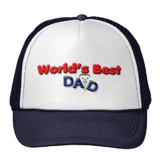 World's Best Dad Designed Hat
