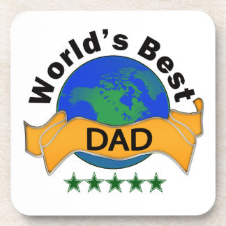 World's Best Dad Drink Coaster