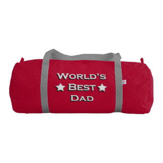 World's Best Dad Duffle Bag