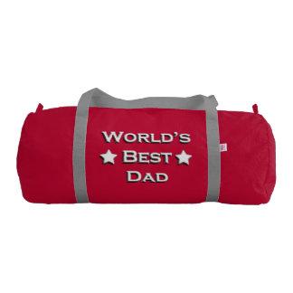 World's Best Dad Duffle Bag