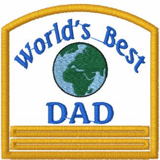 Worlds Best Dad Embroidered Shirt