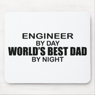 World's Best Dad - Engineer Mouse Pad