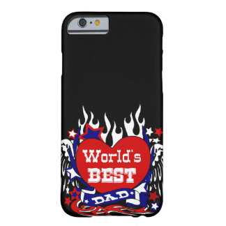world's best dad,father's day,father's birthday barely there iPhone 6 case