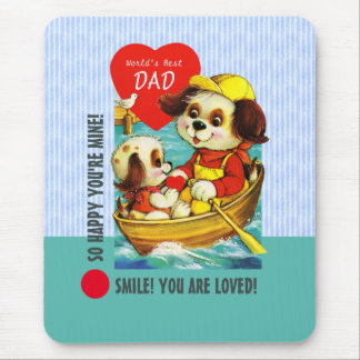 World's Best Dad. Father's Day Gift Mouse Pads